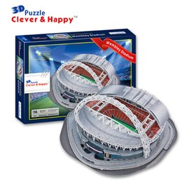 Wholesale D puzzle model stadium England national football team home Wembley Stadium World Great Stadium