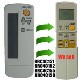 Wholesale Replacement for Daikin Air Conditioner Remote Control Model Brc4c151 Brc4c152 Brc4c155 Brc4c158 Daikin Air Conditioning Parts