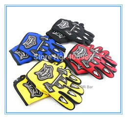 Children size Glove L XL size for mini-motor racing ATV-Quads gloves racing gloves knight gloves Factory Wholesale