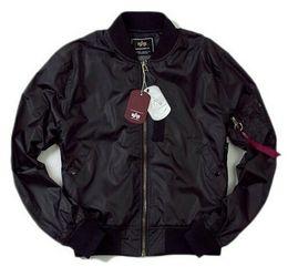 Wholesale Fall Alpha MA flight jacket lightweight ground paragraph waterproof windproof jacket outdoor jacket free shiipping