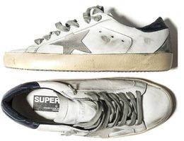 Wholesale New Golden Goose white New York Sneaker Worn Men Women Low Cut Shoes Sneakers g23u590