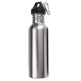 2017 bouteilles d'eau mousqueton Meilleur Prix 750ML acier inoxydable Wide Mouth bouteille d'eau avec Carry Bouteille extérieure mousqueton Sporting eau tasse d'eau bouteilles d'eau mousqueton à vendre