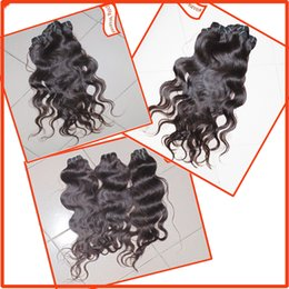 Wholesale Always Happy Time Shopping For Nice Human Hair Weave Indian Body Wave Wefts Color Black Brown No Tangle