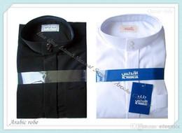 buy cheap islamic clothing 2015 hot style abaya Saudi robe for man China online wholesale HQ047