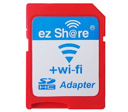 Wholesale 2015 ezshare EZ share micro sd card adapter wifi wireless hot sale TF MicroSD adapter WiFi SD card free ride from goodmemory