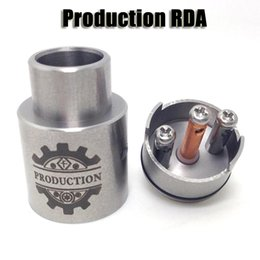 Wholesale Production RDA mm diameter Rebuildable Dripping Atomizer airflow control tank for thread Mechanical Box Mods