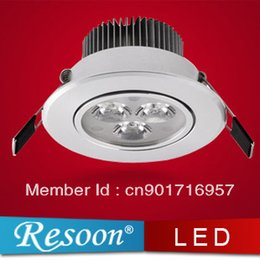 Wholesale Hot sale high power led spotlight AC85 V silver shell Epistar led ceiling lamp years guaranty