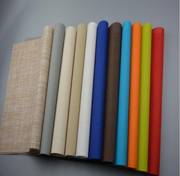 Wholesale High Grade Placemats Table Mat Dining Mat Textilene PVC Insulation Anti Slip Pad Antibacterial Flame Retardant cm Reusable new