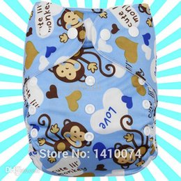 Wholesale Disposable Diapers Babyhoter Cartoon Boy Patterns Washable Economic U Choose The for Your Baby Happy Flute Cloth Diaper