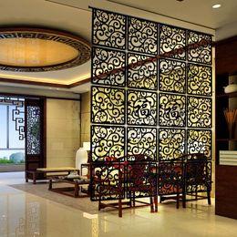 Wholesale Entranceway door hanging screen cm Wood carving vintage cutout Fashion partition Modern brief decoration curtain