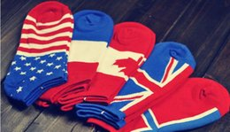 Wholesale 2016 New arrival socks basketball socks mens socks cotton national flag socks socks for men MK