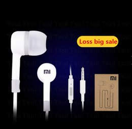 Wholesale New Hot Sale High Quality XIAOMI Earphone Headphone Headset For XiaoMI M2 M1 S Samsung for iPhone MP3 MP4 With Remote And MIC