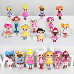 Wholesale 2014 Frozen bonecas bebe reborn kids Doll hot plastic rag mini MGA Lalaloopsy Doll girls Fantasy Educational toy for boy girl