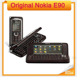 Original Unlocked E90 Nokia Cell Phone 3.2MP GPS Unlocked PDA single core GSM Mobile Phone