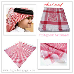 Wholesale 2015 High grade Arab youth headscarf jacquard scarf for boys arab youth shmagh boy scarves online HQ0034
