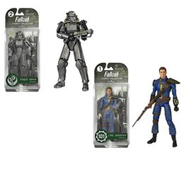 Wholesale fallout action figure funko legacy action fallout power armor fallout lone wanderer action figure blister pack best gift toys for kids