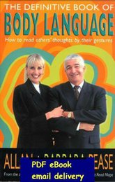 Wholesale The Definitive Book Of Body Language by Allan Barbara Pease
