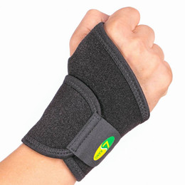 4003Neoprene Weights Lifting Wrist Wraps Black Neoprene Wrist Protector Thumb Wrap Support Pad Brace Gym Weight Lifting Ligament Strap