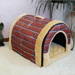 Wholesale New Pet Supplies Dog Kennel Fashion Detachable Arc House Durable and Easy to Clean Dog Houses S M L MC