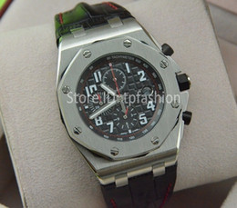 Wholesale New Top Luxury Quartz Chronograph Men Watch Dress Brand Hour Designer Silver Dial Black Leather Strap Clock Fashion Sport Series
