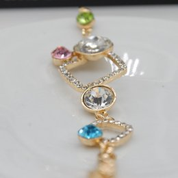 New Fashion Korean Romantic Star Crystal Bracelet Women Link Bracelet Charm Chain Bracelets Bangles FYSS0157#A1