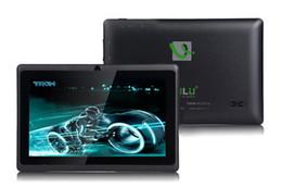 """Dual core tablet pc à vendre-Navire De Etats-Unis! iRuLu Q88 7 """"Tablet Android A33 Quad Core Tablet PC 8 Go 512MB capacitifs WIFI double caméra 7 pouces Tablets PC"""