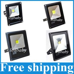 Super Bright Outdoor Waterproof Led Flood Lights 10W 20W 30W 50W Ultra-thin Led Floodlights Lamp AC 85-265V Cool Warm White Red Green Blue
