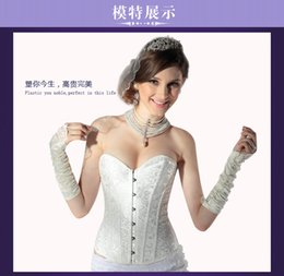 Wholesale The bride wedding dress strapless bra palace chest holder corset waist corset belly in corsets thin body beautiful system