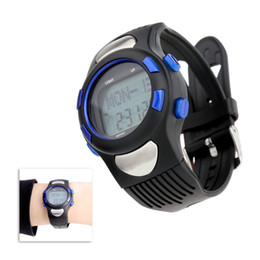 Wholesale New Waterproof Sports Pulse Heart Rate Monitor Fitness Exercise Watch Pedometer Calorie Stopwatch Outdoor Cycling Watch H14469