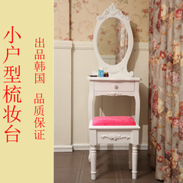 Wholesale Korean little princess dresser dressing table dressing table small apartment modern minimalist fashion white dressing tables