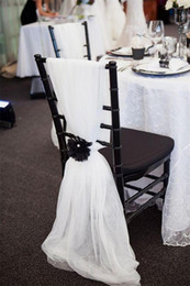 2016 Cheap Newest Chair Sash for Weddings Free Shipping Personalized Chair Covers Chair Sashes Wedding Accessories CHEAP in Stock