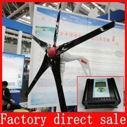 Wholesale Wind turbines Wind power turbines max Wind solar hybrid controller LCD Display with CE ISO9001 certification
