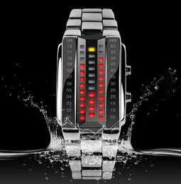 2015 New Fashion Design Military Sports Watches Binary Electronic LED Watch 3ATM Students Bracelet Wristwatches Skmei Brand