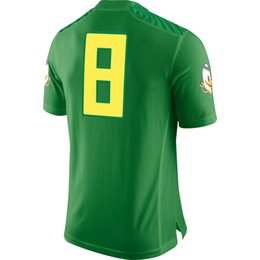 Wholesale 2014 College Football Playoffs Jerseys Green Jersey Size S XXL Stitched Hot American Football Jerseys