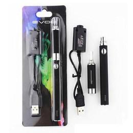 EVOD blister MT3 Blister Kit E Cigarette Starter Kit MT3 evod Atomizer EVOD Batteries 1100mAh with usb charger blister pack
