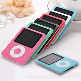 Wholesale High Quality th Screen mp4 player Music playing time Hours fm radio ebook video player mp4 music player Card Reader