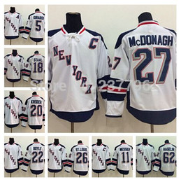 New York Rangers Hockey 27 Ryan McDonagh Stadium Series Jersey 18 Marc Staal 20 Chris Kreider 62 Carl Hagelin 5 Dan Girardi