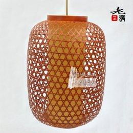 Wholesale Wedding lantern bamboo lantern pendant light bamboo furniture lamps marry products