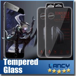 Wholesale Tempered Glass Film Screen Protector for apple watch quot quot inch adapt for iPhone s For Samsung Note galaxy S6 edge S5 S4 For Sony