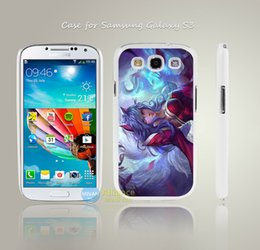 Wholesale League Of Legends Lol Ahri Style Hard White Case Cover Coque For Samsung Galaxy S3 S4 Mini S5 S6 S6 Edge