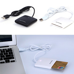 Canada USB EMV Chip Smart Card Reader Writer prend en charge Mac OS / Window / XP Driver CD supplier usb smart cards Offre