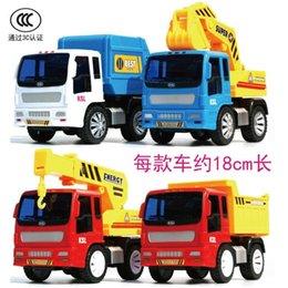 Wholesale cm large hand inertia engineering truck excavator forkfuls dump car crane car