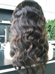 Wholesale wigs for black women human hair wigs full lace wig cheap Wavy remy virgin Chinese density african american body wave