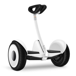Wholesale FREE tax Xiaomi Ninebot Self balancing Scooter mini Car km h km Two Unicycle Wheels Smart System Phone APP Alloy body LED Lights