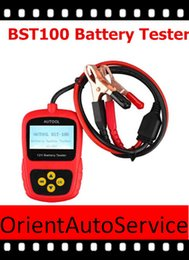 Wholesale 2015 hot sale Original Launch BST BST100 Battery Tester with Portable Design AS bst bst460 battery tester EA