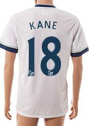 Thai Quality 2015-16 new season home 18# KANE Soccer Jerseys,Customized Cheap Player Football Jerseys Tops,Wholesale White Football Shirts