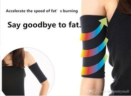 2015 Free Shipping Thin Arms Forearms Hands Shaper Burn Fat Belt Compression Arm Slimming Warmer 420 D