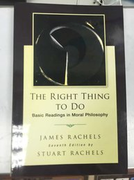 Wholesale 2015 Hot Selling Newest Books The Right Thing To Do Basic Readings in Moral Philosophy DHL