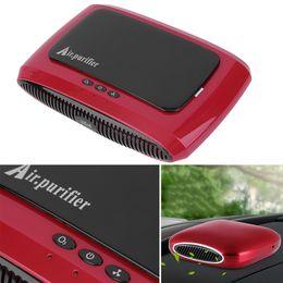 Wholesale New Air Purifier Mini Auto Car Fresh Air Ionic Purifier Oxygen Bar Ozone Ionizer Cleaner Car Air Humidifier Aroma Diffuser