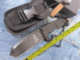 New EXTREMA RATIO 6MM Blade AxisLock Large Folding Hunting Knife ER01